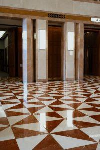 Shiny Stone Floors