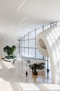 Clean museum