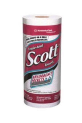 Scott paper towels packaging
