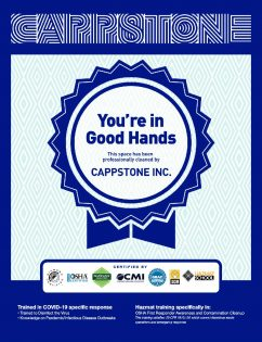 Cappstone you're in good hands sign