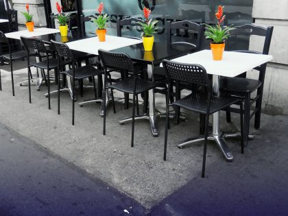 Parklet Cleaning For Outdoor Dining