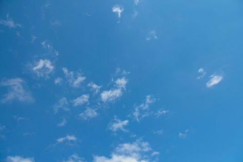Clear Blue Sky Clean Air